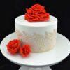 торт кружева и розы (5)