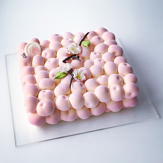 современные десерты и тарты