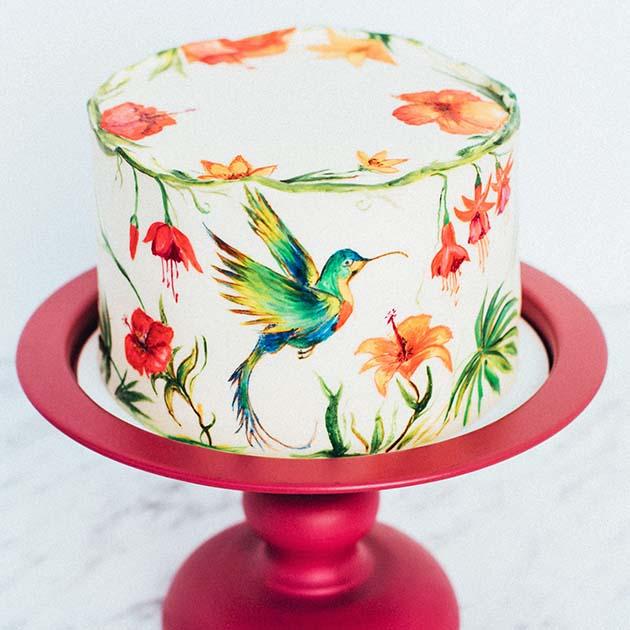 колибри торт 1
